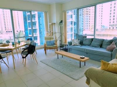1 Bedroom Flat for Rent in Dubai Marina, Dubai - From 1 June - Relaxing Sea View - High Floor