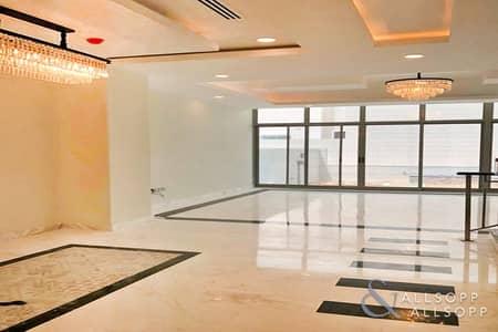 تاون هاوس 3 غرف نوم للايجار في الفرجان، دبي - Modern End of Row 3-Bed Townhouse in The Dreamz
