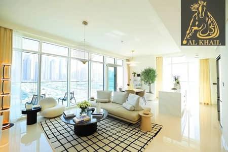 فیلا 3 غرف نوم للبيع في دبي هاربور، دبي - Own Stylish 3BR Villa in Beachfront 2 Years Payment Plan