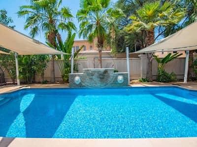 5 Bedroom Villa for Sale in Saadiyat Island, Abu Dhabi - Beautifully landscaped garden and pool I Executive