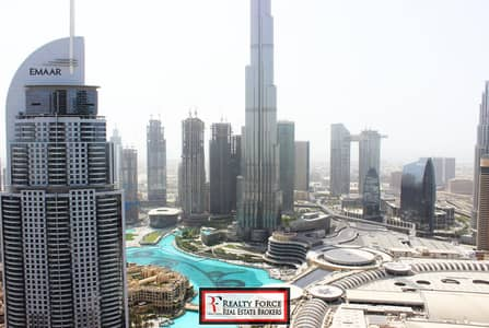 2 Bedroom Flat for Sale in Downtown Dubai, Dubai - HIGH FLOOR | 2BR SERIES 02 | FULL FOUNTAIN VIEW