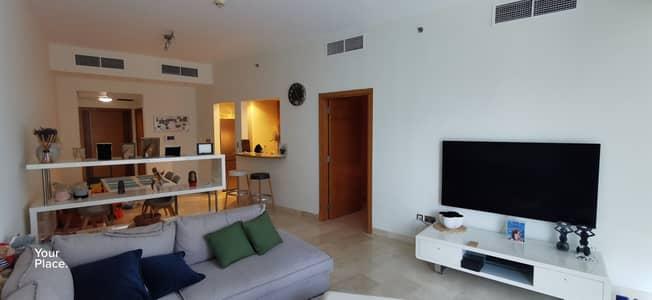 شقة 1 غرفة نوم للايجار في دبي مارينا، دبي - Fully Furnished -  Sea And Marina View