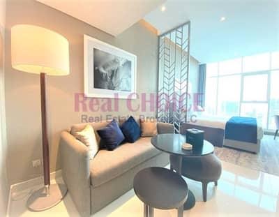 شقة فندقية  للبيع في الخليج التجاري، دبي - Fully Furnished Studio Prive B | Brand New