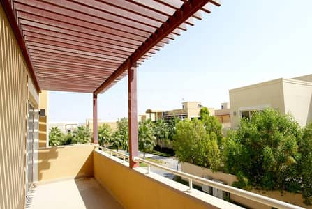 فیلا 4 غرف نوم للايجار في حدائق الراحة، أبوظبي - Upcoming Unit|Family Home|Private Pool|Garden