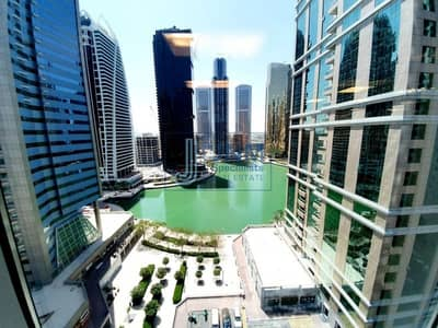 Office for Sale in Jumeirah Lake Towers (JLT), Dubai - Fitted with Partitions| Lake View | Close to Metro