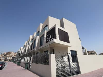 4 Bedroom Townhouse for Sale in Jumeirah Village Circle (JVC), Dubai - SB |  Corner 4BR+Basement+Pool @2.4M