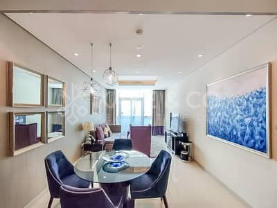 2 Bedroom Hotel Apartment for Sale in Downtown Dubai, Dubai - Partial View of Burj Khalifa | Fully Furnished