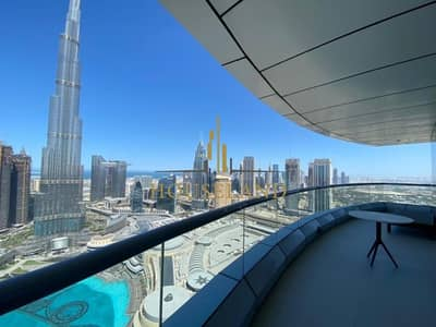 2 Bedroom Apartment for Rent in Downtown Dubai, Dubai - Well Maintained I Spacious Living Area I Burj View