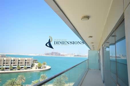 فلیٹ 2 غرفة نوم للايجار في شاطئ الراحة، أبوظبي - Stunning and Spacious 2BR I Huge  Balcony I Amazing Sea View