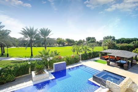 فیلا 6 غرف نوم للبيع في جرين كوميونيتي، دبي - Upgraded 6 Bed Luxury Villa | Private Pool