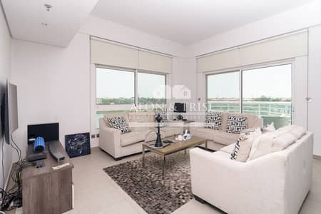 3 Bedroom Flat for Rent in Jumeirah Heights, Dubai - Full Lake View | Duplex Apartment with Maidsroom