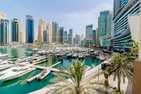 3 Bedroom Apartment for Rent in Dubai Marina, Dubai - 3-Bed | Lower Floor | Marina Sail