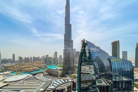 2 Bedroom Hotel Apartment for Rent in Downtown Dubai, Dubai - Vacant | Burj and Fountain Views | High Floor