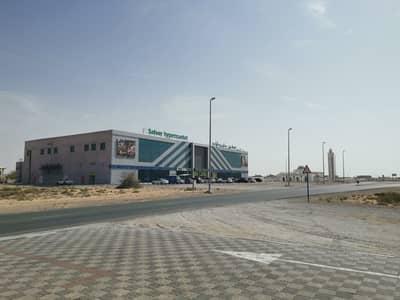 Plot for Sale in Al Salamah, Umm Al Quwain - Residential commercial land opposite Al Safeer Mall