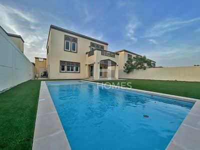 فیلا 3 غرف نوم للايجار في جميرا بارك، دبي - Single Row | District 6 | Pool | Vacant Now