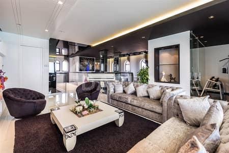 5 Bedroom Villa for Rent in Palm Jumeirah, Dubai - Luxury TIP Villa / G+2 Atrium / Extended