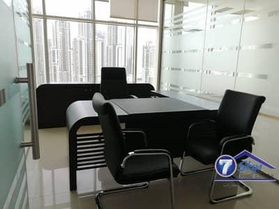 مکتب  للايجار في الخليج التجاري، دبي - Fitted Office | Near Metro | Clover Bay
