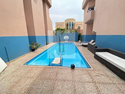 3 Bedroom Villa for Rent in Jumeirah, Dubai - Private Garden | Corner 3BR+Study | Shared Pool
