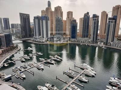 2 Bedroom Flat for Rent in Dubai Marina, Dubai - Full Marina View | Dubai Marina Water Front Living 2B/R+Maid's | VIP