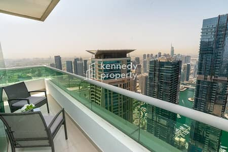 شقة 3 غرف نوم للبيع في دبي مارينا، دبي - High Yield I Fully Furnished I Vacant on Transfer