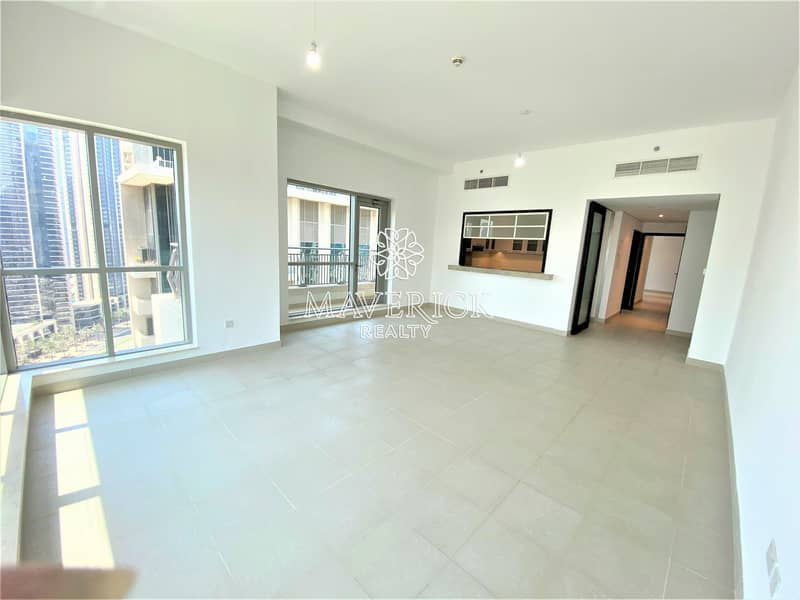 Chiller Free | Large 2BR+Long Balcony | 4Chqs