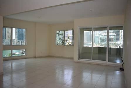 3 Bedroom Flat for Rent in Dubai Marina, Dubai - 3BHK + FULL LENGTH BALCONY | MARINA VIEW | GOOD LIGHTING