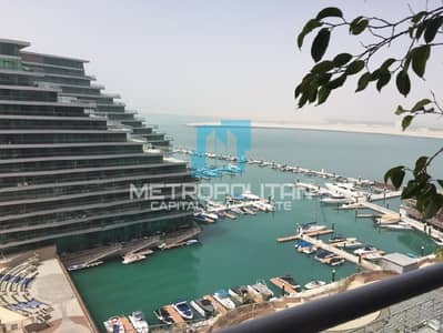 2 Bedroom Apartment for Sale in Al Raha Beach, Abu Dhabi - 2 BR Duplex| Full Sea View | unique Luxury Layout