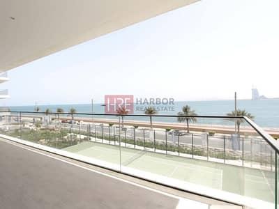 شقة 3 غرف نوم للبيع في نخلة جميرا، دبي - Sea View | Contemporary 3-beds Apartment