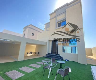 4 Bedroom Villa for Sale in Al Zahia, Ajman - Excellent new Villa on a main road in very good location big space  .