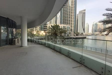 Shop for Rent in Dubai Marina, Dubai - Canal view / Restaurant space / Duplex unit