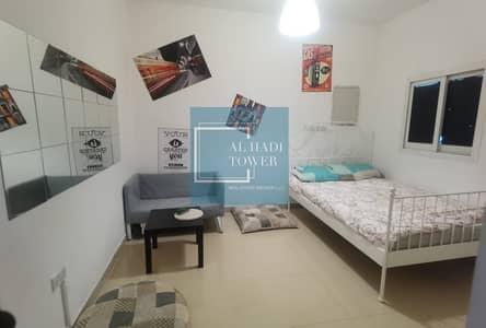 Studio for Rent in Khalifa City A, Abu Dhabi - STUDIO FOR RENT WITH ITEMS OF FURNITURES IN KHALIFA CITY A