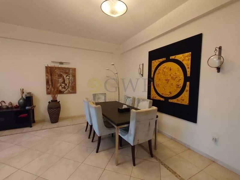 2 3-Bedroom Fully Furnished apartment Dubai Marina .