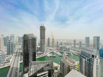 2 Bedroom Flat for Sale in Jumeirah Beach Residence (JBR), Dubai - On Mid Floor | Marina View | Fully Furnished | 2 Bedrooms
