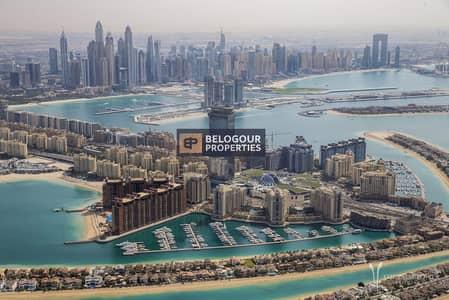 شقة 1 غرفة نوم للبيع في نخلة جميرا، دبي - The Palm Tower Full Sea View /No Commission /No DLD Fees