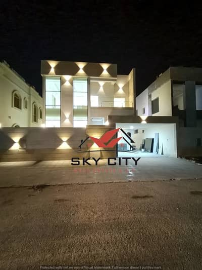 5 Bedroom Villa for Sale in Al Yasmeen, Ajman - European villa for sale at an attractive price   Without down payment and bank financing The best real estate agents Owns a lifetime villa at a price of a shot and all the facilities Modern villa freehold without down payment At a great price