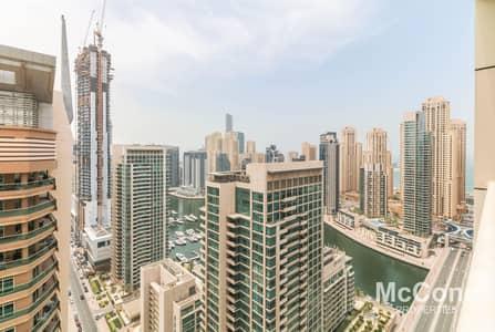 فلیٹ 1 غرفة نوم للبيع في دبي مارينا، دبي - Genuine Resale | Marina View | Elegant Design
