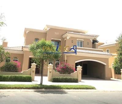 فیلا 4 غرف نوم للايجار في المرابع العربية، دبي - Single Row    Front of Swimming pool