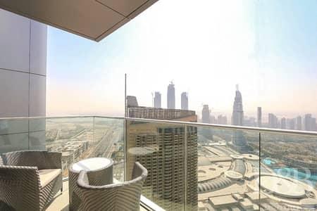 فلیٹ 2 غرفة نوم للبيع في وسط مدينة دبي، دبي - Full Burj View   Luxury 2BR   High Floor