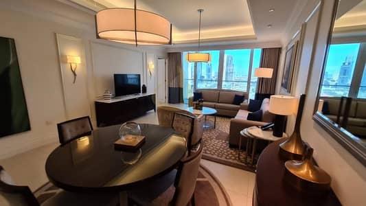 فلیٹ 1 غرفة نوم للايجار في وسط مدينة دبي، دبي - Bills Inclusive | Fully Furnished 1BR | The Address The Blvd