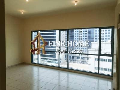 فلیٹ 2 غرفة نوم للايجار في آل نهيان، أبوظبي - High Floor I Relaxing City View I 2 Bedroom
