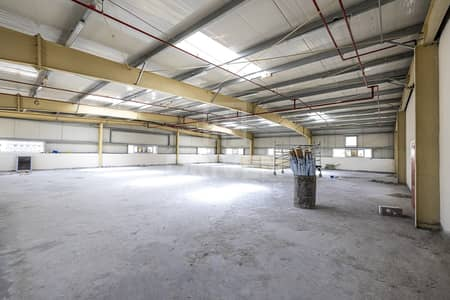 مستودع  للايجار في الورسان، دبي - New Warehouse   Storage Area   Spacious