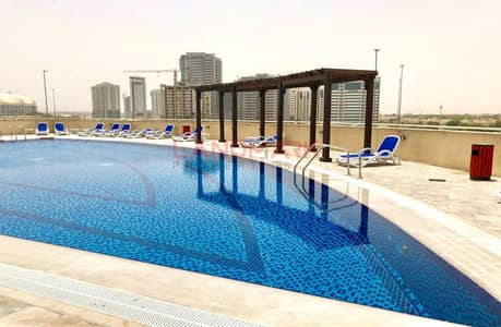 1 Bedroom Apartment for Sale in Jumeirah Village Circle (JVC), Dubai - Biggest Layout 1BR 952 SqFt Luxury tower l Balcony City View
