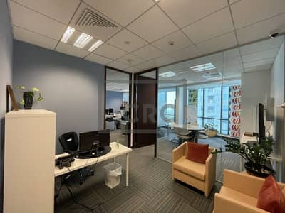 Office for Rent in Business Bay, Dubai - Fully Furnished Office| 2 Car Parking Spaces