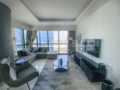 فلیٹ 2 غرفة نوم للايجار في الخليج التجاري، دبي - Fully Furnished | Pool View | Low Floor |Balcony