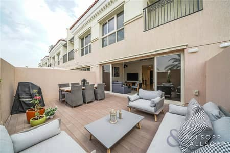 2 Bedroom Townhouse for Sale in Jumeirah Golf Estate, Dubai - Exclusive   Two Bed Plus Maids   Golf View