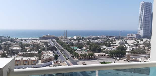 2 Bedroom Flat for Rent in Al Sawan, Ajman - sea view