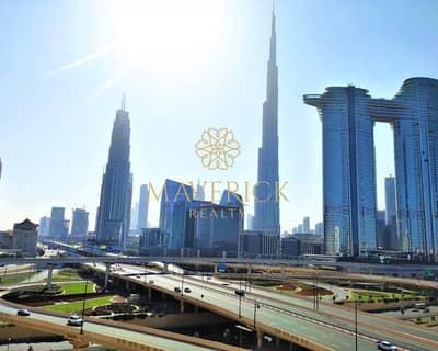 شقة 3 غرف نوم للايجار في شارع الشيخ زايد، دبي - Full Burj View | Huge 3BR+Maids/R | 12Chqs