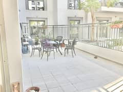 2BR with Large Terrace | Direct Pool Access
