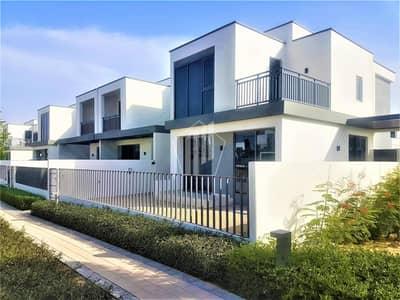 فیلا 4 غرف نوم للايجار في دبي هيلز استيت، دبي - Corner single row villa next to park