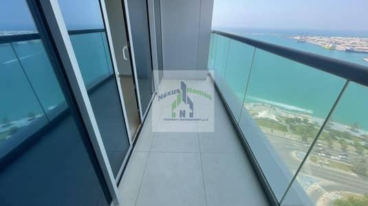 فلیٹ 3 غرف نوم للايجار في منطقة الكورنيش، أبوظبي - Splendid Water Views Relaxing Balcony
